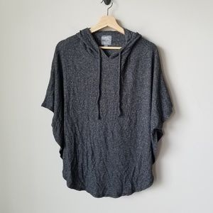 Aerie Just Add Leggings Poncho Tunic Hoodie Small